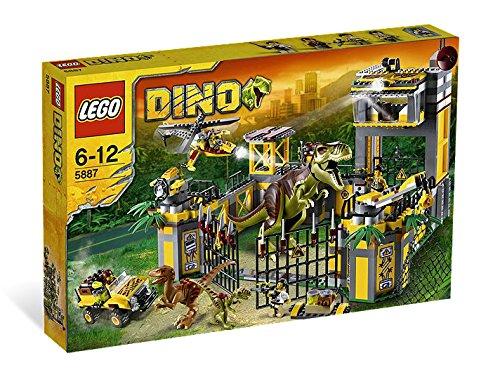 Lego Dino – 5887 – Le QG de Défense Contre les Dinosaures (Import Royaume Uni)