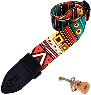 1 Stück Gitarrengurt Ideal für Akustikgitarren Westerngitarre /& Klassische
