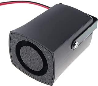 Black 105dB Reversing Back up Alarm Horn Speaker for Motorcycle Car Vehicle