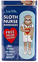 Sloth Nurse Bandages Plasters - Band Aids In A Tin