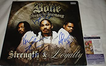 Bone Thugs n Harmony Signed / Autographed Strength and Loyalty Album / LP - JSA M67777
