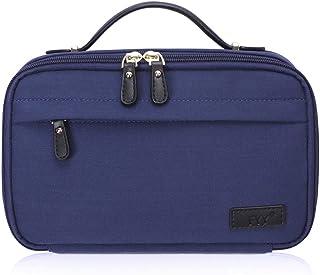 Bolsa de higiene pessoal FYY, bolsa de cosméticos para viagem Organizador com zíper de grande capacidade e alça superior, ...