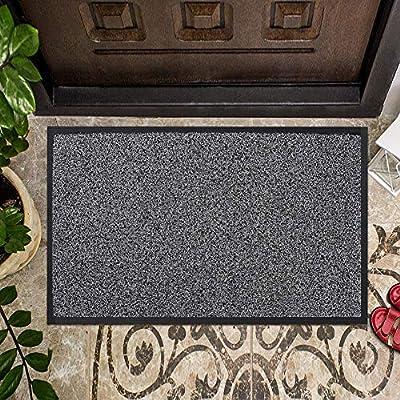 """Entrance Door Mat,Outdoors Door Mat with Non-Slip Rubber Backing,30x17"""" Door Mats Outside/Front Door Mat for Indoor/Outdoor High Traffic Area,Heavy Duty Doormat"""