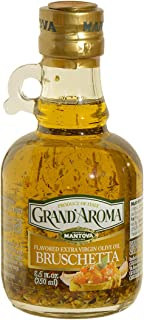 Grand'Aroma Tuscan Herbs (Pack of 2) Flavored Extra Virgin Olive Oil 8.5 Oz. - Mix of Tuscan herbs