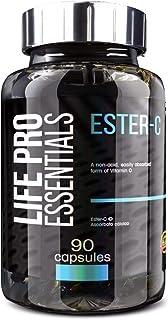 Antioxidante natural Life Pro Essentials Ester C (vitamina C) – Fórmula patentada con mejor absorción
