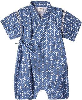 6001c474a1b7c ACVIP Bébé Garçon Fille Une Pièce Combinaison Barboteuse Kimono Pyjama  Printemps  Eté