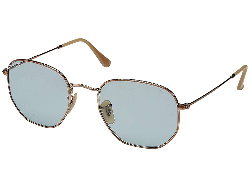 Ray-Ban 0RB3548N 54mm (Copper/Evolve Light Blue) Fashion Sunglasses
