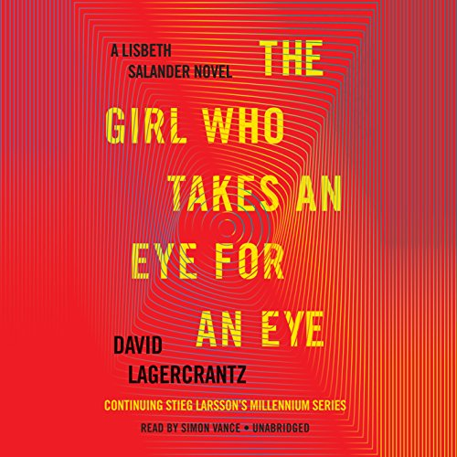 The Girl Who Takes an Eye for an Eye audiobook cover art