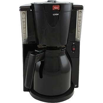 Melitta Look Therm IV - Cafetera de goteo, 1000 W, color negro ...