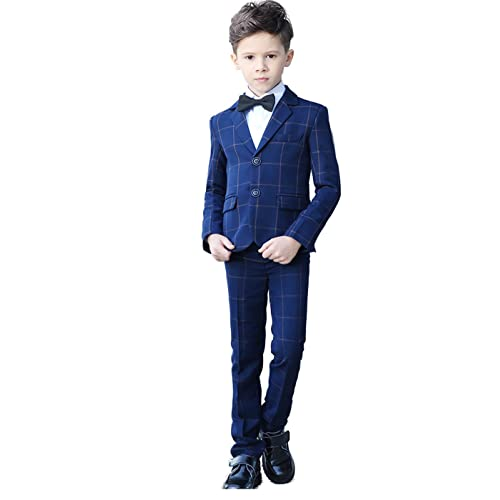 51b6be7d1ab YuanLu Boys Colorful Formal Suits 5 Piece Slim Fit Dresswear Suit Set