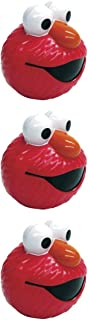 Sesame Street ELMO! Package of 3 Party Treat Containers, STOCKING STUFFERS