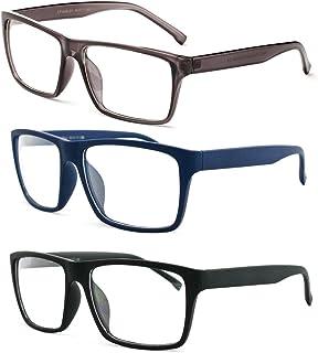 نظارات شمسية كلاسيكية للجنسين مربعة الموضة عدسات شفافة إطار عدسات شفافة للرجال والنساء