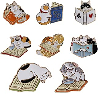 Cartoon Cute Cat Family Brooch Girl Collar Pin Badge Funny Student Gift Clothes Bag Accessory