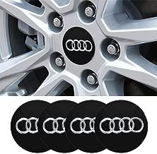4 x 56.5mm Car Lettering BBS Wheel Center Cap Sticker Wheel Emblem Badge Logo Stickers fit Audi Accessory