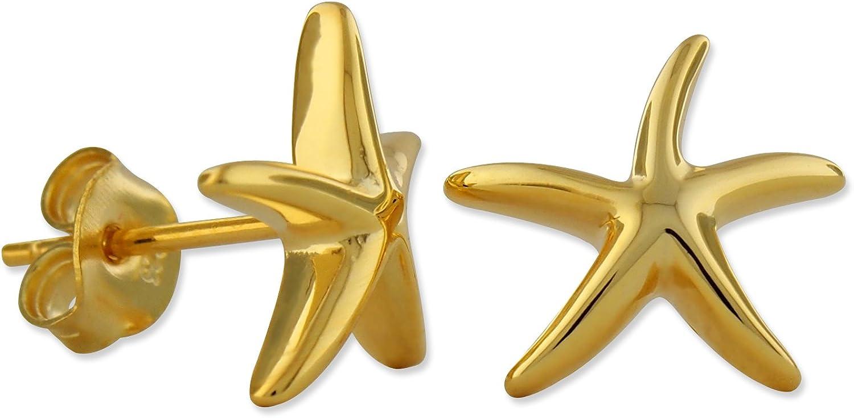 favorite Sterling Silver Starfish Earrings List price Stud