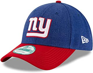 b08d7fd0452 New York Giants The League Heathered Team Color 9FORTY Adjustable Hat Cap
