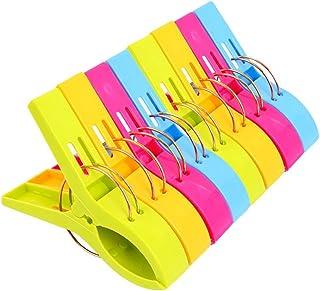 Danmu Colorful Beach Towel Clips, Beach Clips, Towel Clips for Beach Chair, Blankets,..