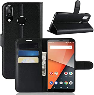CN Case for VODAFONE Smart X9 Case Flip leather + TPU Silicone fixing Cover 9