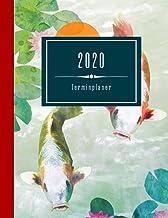 2020 Terminplaner: Koi Karpfen Asia Art Planer Groß - Woche