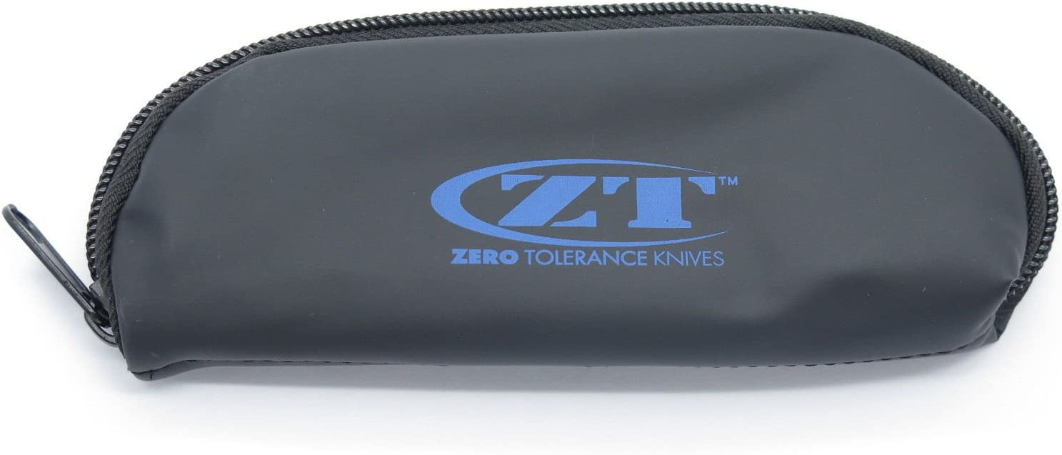 Zero Tolerance 6 Inch Fixed Year-end gift Blade Hunter Super Special SALE held Sheath Zip Knife Padded