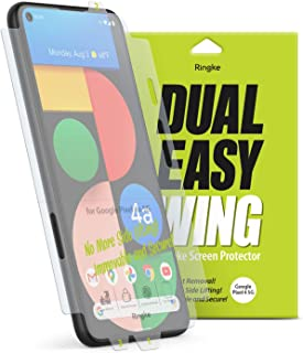 Ringke Dual Easy Wing Compatible with Google Pixel 4a 5G Screen Protector - 2 Pack
