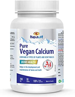 Vegan Calcium 200mg - 90 Tablets
