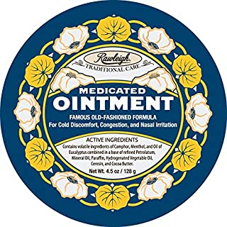 Medicated Ointment Cream - 4.5 oz Paste - by WT Rawleigh (4.5 oz)