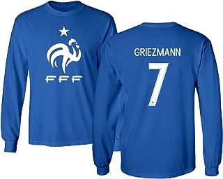 Best france soccer jersey long sleeve Reviews