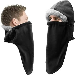 Balaclava Fleece Hood Ski Face Mask Hat Winter Face Neck Warmer Windproof Ski Mask for Men Women