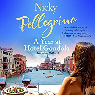A Year at Hotel Gondola                   By:                                                                                                                                 Nicky Pellegrino                               Narrated by:                                                                                                                                 Jane McDowell                      Length: 9 hrs and 51 mins     13 ratings     Overall 4.2