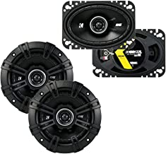 Kicker 43DSC504 D Series 5.25 Inch 200W Dual Speakers with Kicker 43DSC4604 D Series 4x6 Inch 120 Watt 4 Ohm 2 Way Car Aud... photo