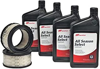 Ingersoll Rand Start Up Kit (For Use With 2340 5 HP And 2475 7.5 HP Electric-Driven Air Compressor) (Includes (4) Quarts All-Season Select Lubricant And (2) Replacement Air Filter Elements)