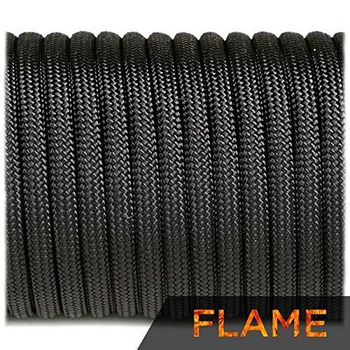 EDCX Flame Cord Tipo III 4 mm Mil-Spec Cable de supervivencia – Carga de rotura de 250...