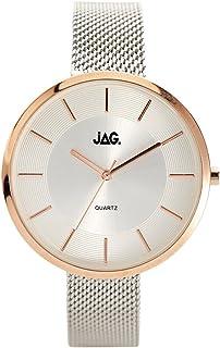 JAG Women's J2075A Year-Round Analog Quartz Silver Watch