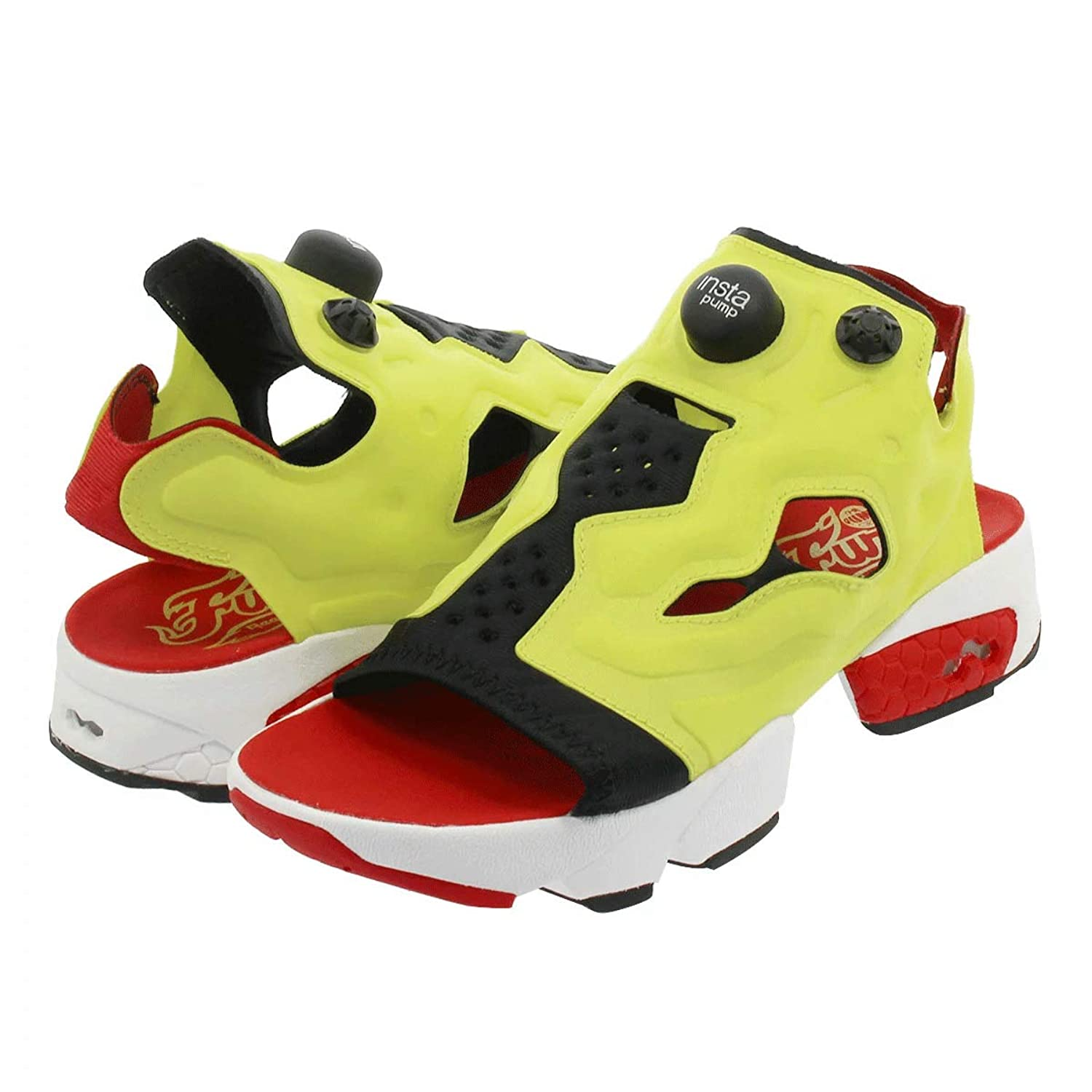[リーボック] INSTAPUMP FURY SANDAL BLACK/GREEN/RED