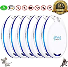 U-missss Ultrasonic Pest Repeller Plug in Pest Control - Mice Repellent & Rat Repellent in Pest Repellent - Bug Repellent for Ant,Mosquito,Mice,Flea,Fly,Spider,Roach,Rat (New 2019 Pest Repeller)