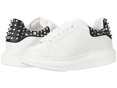 Steve Madden Glimmer-S Sneaker (White Stud) Women
