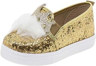 Sapatilha Infantil Baby Dourada Molekinha - 2118123
