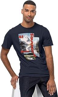 Jack Wolfskin T-shirt Mężczyźni LAKE MORNING T M