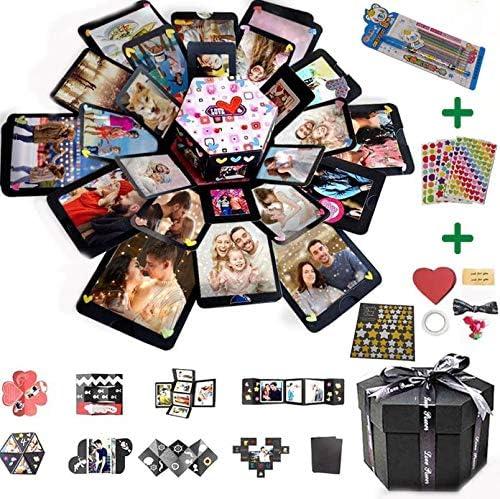 Max 50% OFF Modern Upgraded Explosion Gift Box Album Photo El Paso Mall Scrapbook F DIY