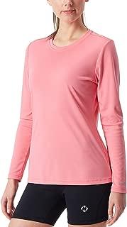 Women's UPF 50+ UV Sun Protection Performance Long Sleeve T-Shirt Lightweight Running Outdoor Shirt