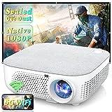 WISELAZER Proiettore WiFi, 7500 Lumen Proiettore Full HD Nativo 1920x1080P, Supporto 4K Schermo 300' per Home Cinema Theater, 5G Wireless Videoproiettore Compatibile con Smartphone,TV Box, PC