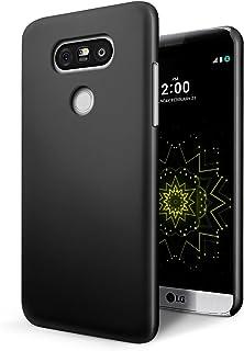 SLEO Funda para LG G6 PC Back Cover de Parachoques Duro Cubierta Protectora para LG G6 - Negro