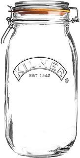 Kilner Clip Top Round Jar 51 Fl Oz - 4 Pack
