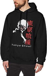 Tokyo Ghoul Men's Long Sleeve Sport Hoodie Pullover Casual Printed Sweatshirt