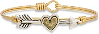 Follow Your Heart Bangle Bracelet for Women Made in USA