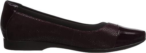 Aubergine Nubuck/Leather Combination