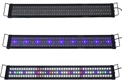 "new arrival Aquarium Full Spectrum Multi-Color LED new arrival Light 0.5W 129 LED For 36""-43"" Fish sale Tank online sale"
