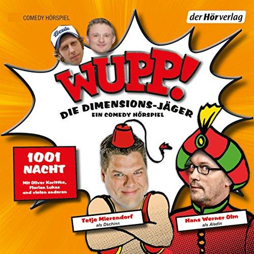 1001 Nacht (Wupp! Die Dimensions-Jäger 2) cover art