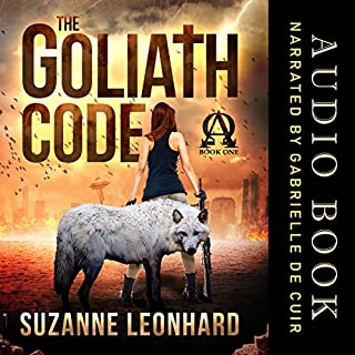 The Goliath Code audiobook cover art